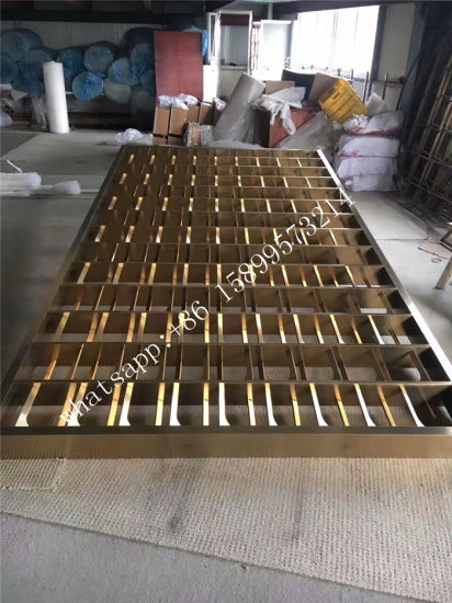Stainless Steel Room Partition Screen / Room Divider / Home Decorative Garden Metal Panels pictures & photos