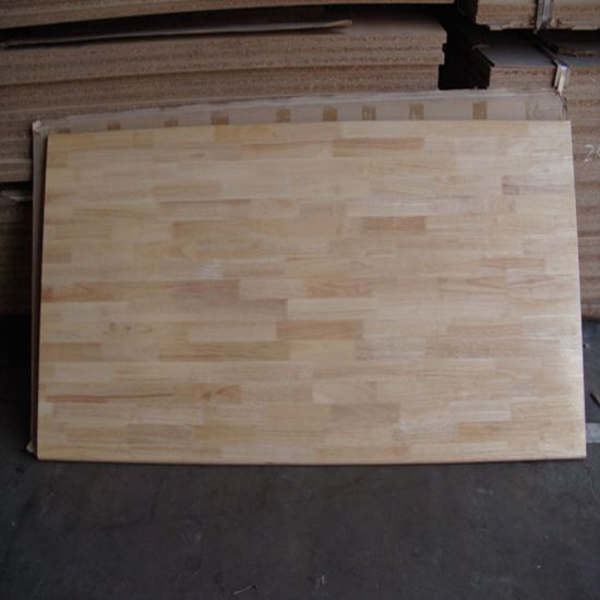 A Grade Rubberwood Finger Jointed Board (Worktops) pictures & photos