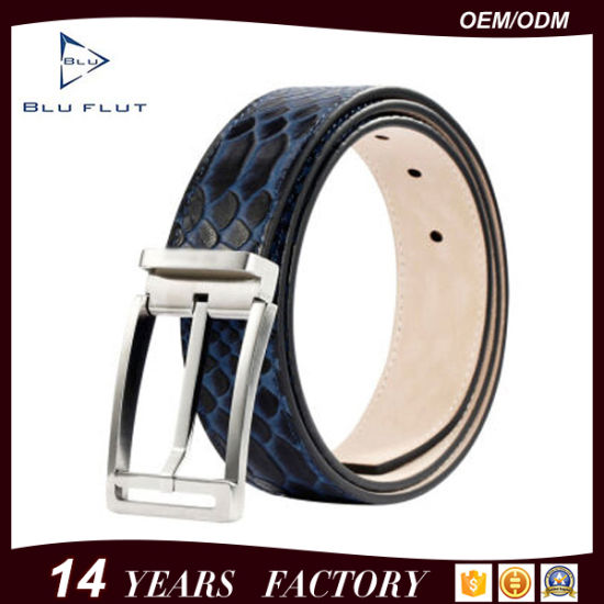 Fashion New Design Styles Wholesale Real Leather Men Waist Belts