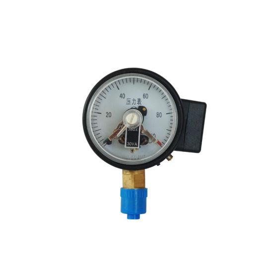"""60mm 2.5"""" Steel Case Electric Contact Pressure Gauge"""