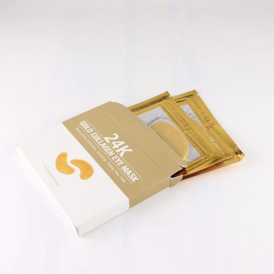 OEM Factory Private Label Anti Moisture 24K Gold Collagen Eye Mask