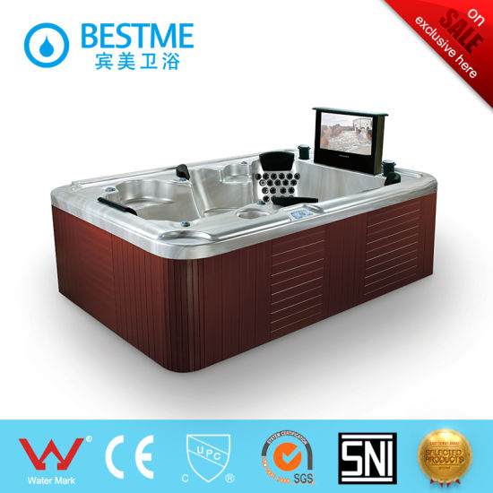 Hot Outdoor SPA Jacuzzi Bathtub From China (BT-1801) pictures & photos