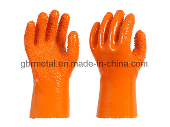 New Style PVC Non-Skid Gloves Work Gloves 911 pictures & photos