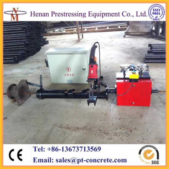 Post Tensioned Strand Pusher Machine for Prestressing Bridge Construction pictures & photos