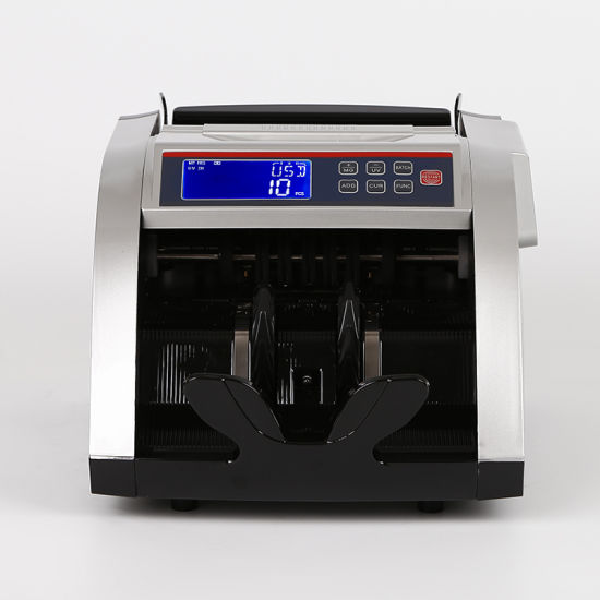 Bill Counter Money Counter Banknote Counter Currency Counter with UV+Mg+IR Portable Bank Using Money Counter, Bill Money Counter