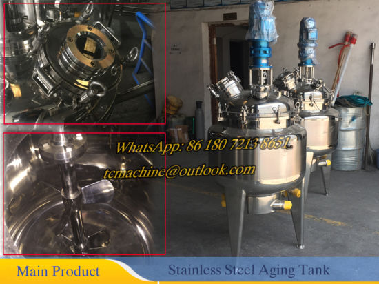 200L ~ 500L Stainless Steel Chemical Reactor (Tank Reactor) pictures & photos