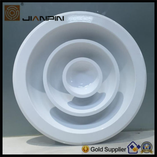 Aluminum Supply Air Grille Round Ceiling Diffuser