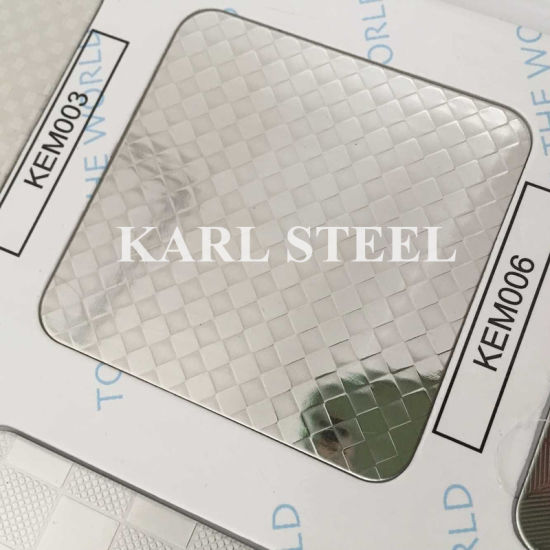 304 Stainless Steel Silver Color Hairline Kbh007 Sheet pictures & photos