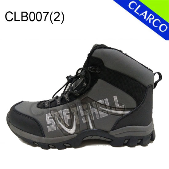 Softshell Men and Women Outdoor Sports Hiking Boots with Waterproof pictures & photos