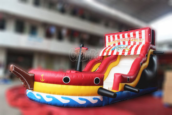 Adventure Galley Inflatable Water Slide for Water Park (CHSL204) pictures & photos