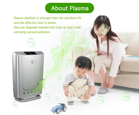 Combo Function Plasma Air Purifier Water Purifier 3190 for Household pictures & photos