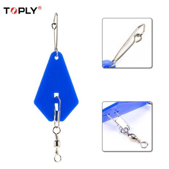Blue Traingle Swivel Ring Fishing Accessory