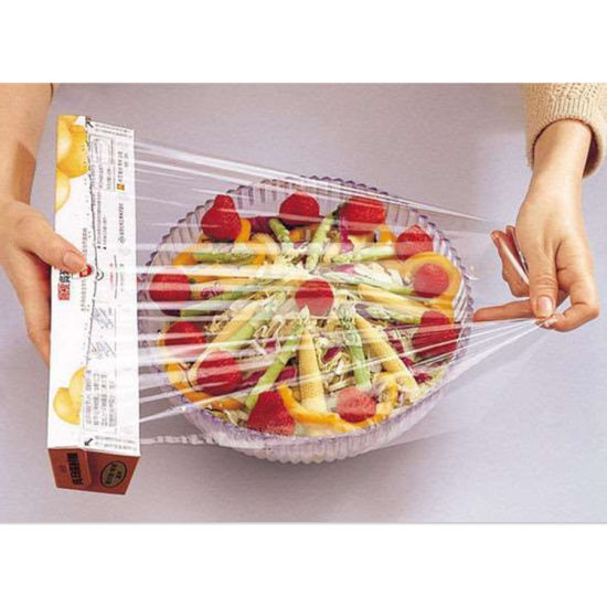 China Plastic Wrap Film Package for Cover Items Food - China Plastic