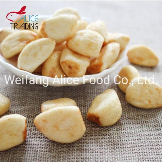 Low Price Wholesale Dried Vegetable Snack Vacuum Fried Garlic
