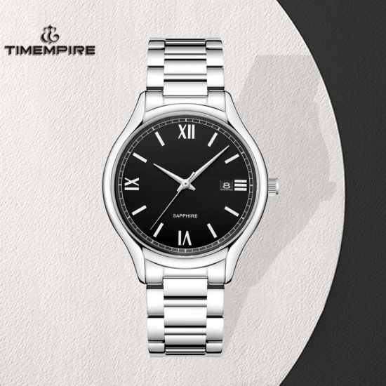 Promotion Stainless Steel Fashion Men′s Quartz Wrist Watch (72883) pictures & photos
