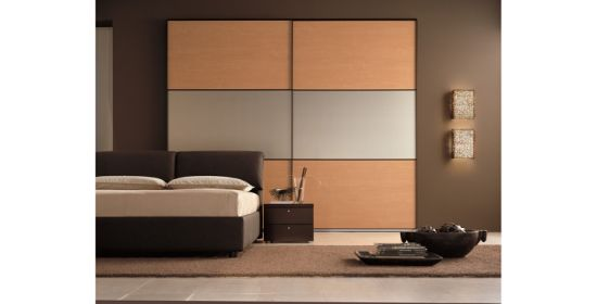 Elegant European Style Sliding Door Wardrobe Cabinet Sliding Door pictures & photos