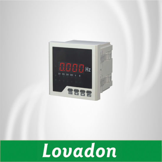 Low Price 96*96mm Single Phase LED Display Digital Frequency Meter