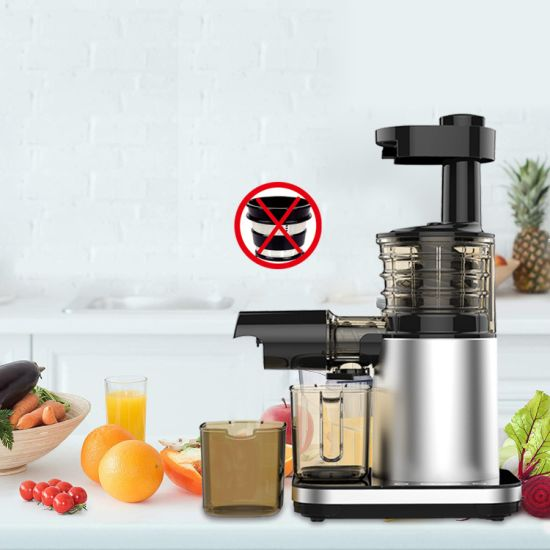 Juicer, Aicok Slow Masticating Juicer with Reverse Function, Juice Machine with Recipe, Cold Press Juicer with Quiet Motor, Juice Jug and Brush for High Nutrien pictures & photos
