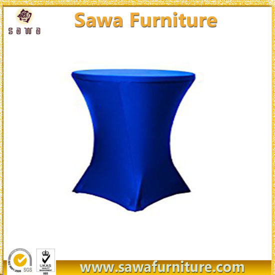 China Hot Sale Round Hot Sale Round Stretch Table Cover Jc Zb348