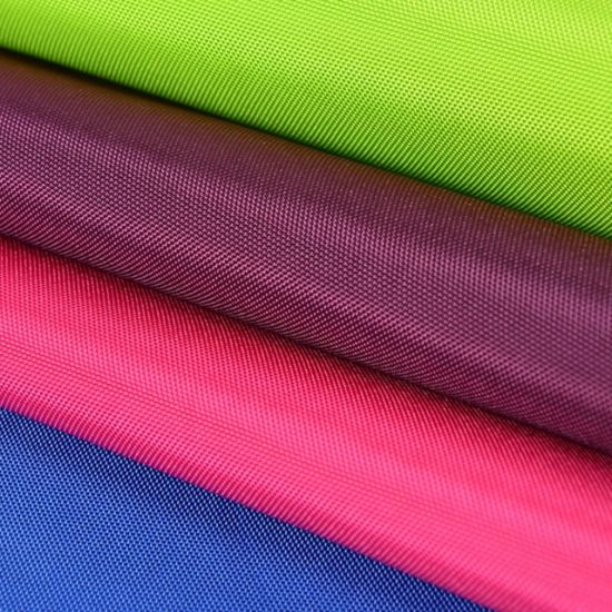 Eco-Friendly Grs Certified Polyester 210t Taffeta Fabric for Bag Garment Lining