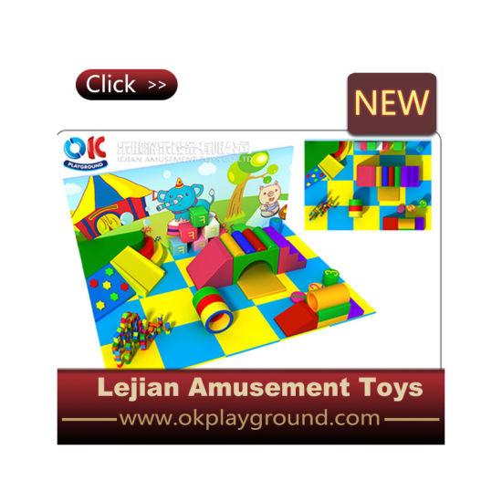 Cute Indoor Soft Play Area Equipment for Preschool (R1501-8)