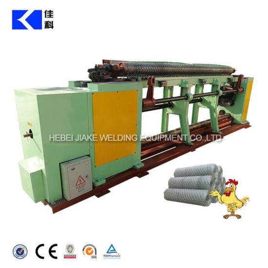 Straight Reverse Hexagonal Wire Netting Machine