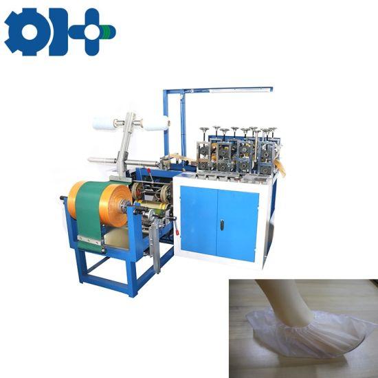 Thin Polyethylene Shoe Cover Making Machine