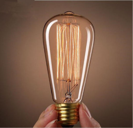 Wholesales 240V 220V 40W St64 Vintage Edison Bulb pictures & photos