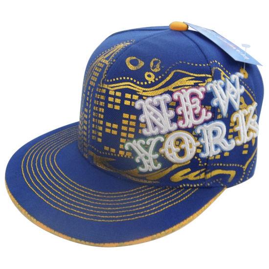 Custom Fitted Baseball Cap with Nice Logo Gj1721