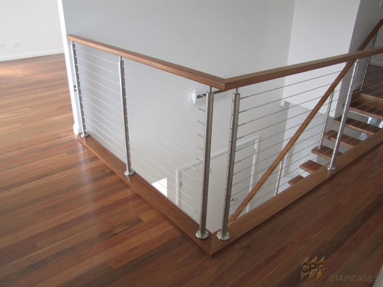 Popular Stainless Steel Staircase Railings Stainless Stair Railing