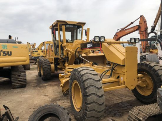 Good Quality and Fine Appearance Cat 140h Motor Grader for Sale