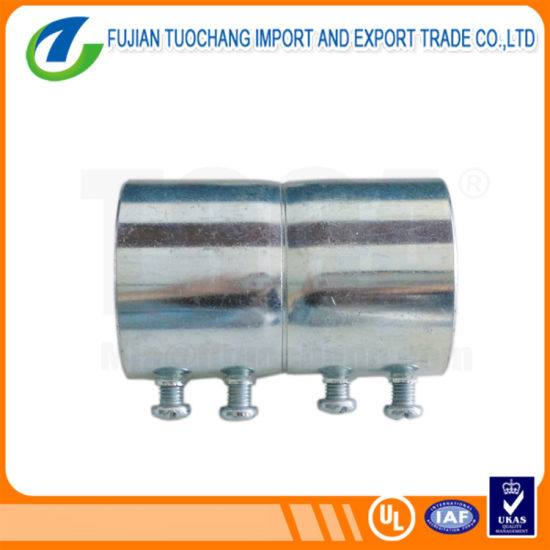EMT Non-Secondary Galvanized Steel Pipe Coupling
