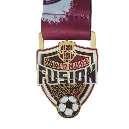 Design Custom Iron Cross Football Medal