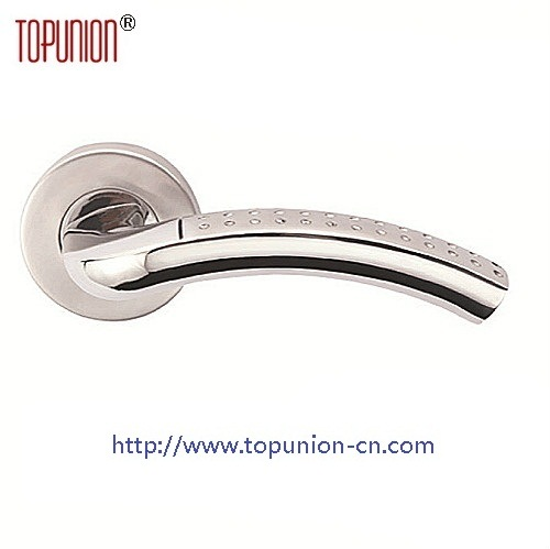 Elegant 304 Stainless Steel Door Lever Handle (CLH018) pictures & photos