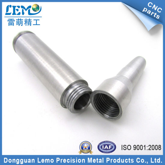 China Precision CNC Aluminum 2011/6082 Parts with Sandblasting (LM-0704Y)