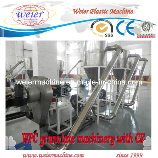 Wood Plastic Pellet Production Line pictures & photos