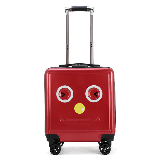 Wholesale Smiley Trolley Case 2019 New Cartoon Children′s Luggage Suitcase Universal Wheel pictures & photos