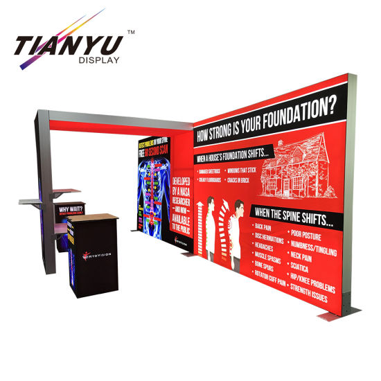 Custom Size Creative Ideas For Exhibition Stalls Cheap Stand Booth Design