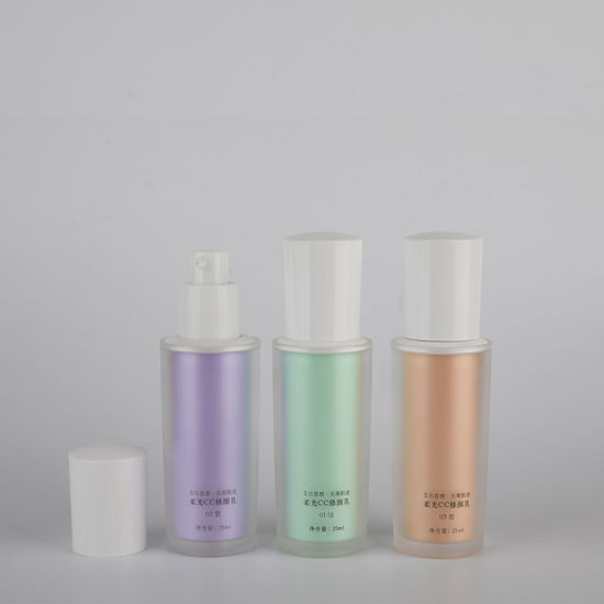 High Quality 30ml Round Airless Bottle Cosmetic Lotion Pump Cap Travel Bottle Set pictures & photos