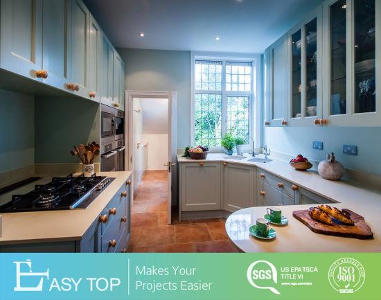 Best Sale Latest Design High Quality Cheap Kitchen Cabinets with Wood Door Modern Kitchen Furniture