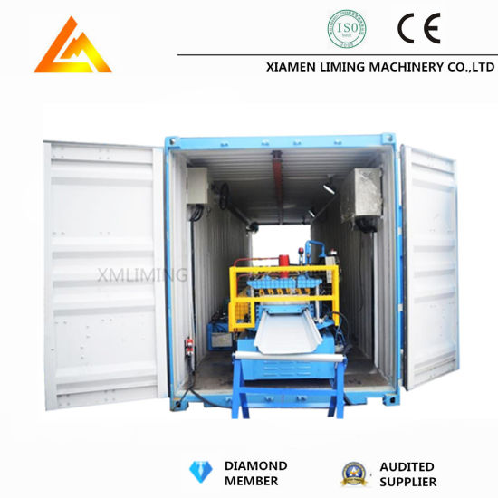Full Auto Metal Floor Decking Roof Roll Forming Machine with Ce/ISO9001