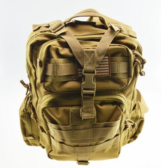 Hot Sales Khaki Military Tactical Outdoor Hiking Bag Backpack