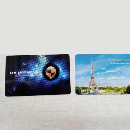 Best Selling Wallet RFID Blocking Card / Hf RFID Blockingcard