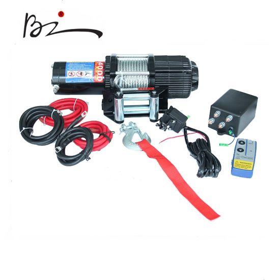 12V & 24V UTV ATV Electric Winch with 4000lb Wire Line