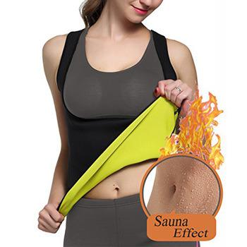 Custom Logo Hot Selling Women Neoprene Sweat Slimming Waist Trimmer Vest