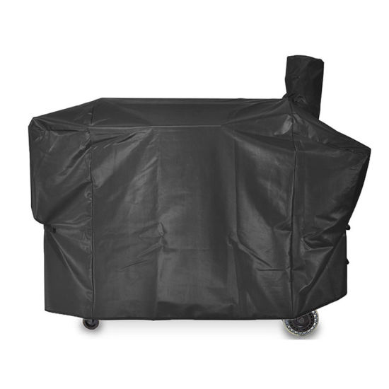 600d Polyester PVC Coating Waterproof Outdoor BBQ Grill Cover