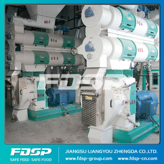 ISO Certificated 10t/H Piglet Feed Production Line for Feed Mills