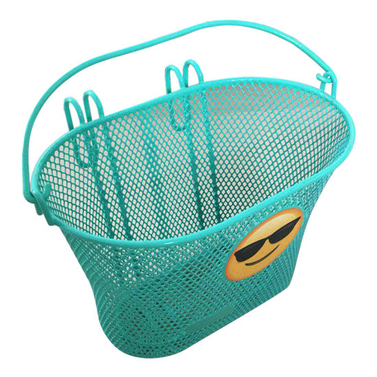 Popular Children Front Bicycle Basket with Handle in Europe
