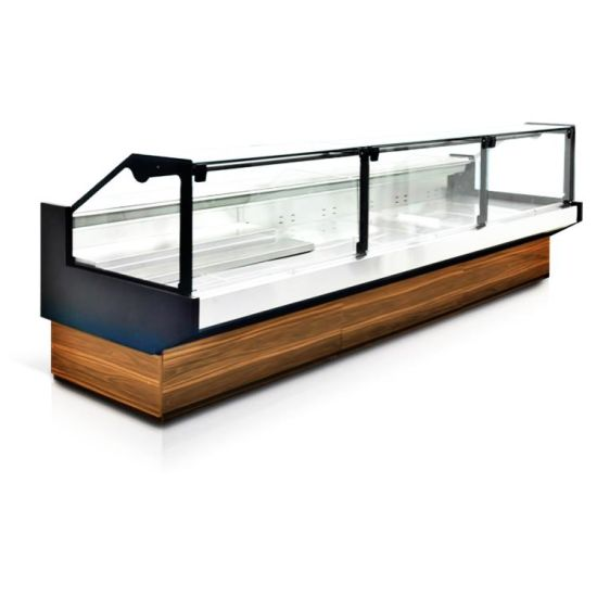 Supermarket Meat Display Cabinets Commercial Meat Freezer with LED
