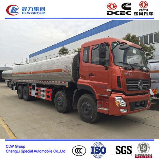 30000~40000 Liter Aluminum Delivery Tank Truck, Diesel Petrol Transporting Truck
